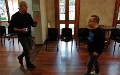 I ragazzi di San Vitale al laboratorio teatrale con Maurizio Lupinelli