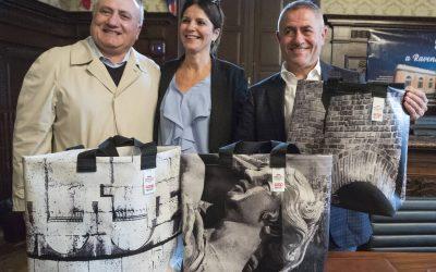 All'asta le borse che abbiamo realizzato per il Mercato Coperto di Ravenna