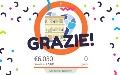 Conclusa con successo la nostra campagna di crowdfunding!