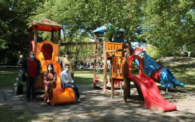 """Di nuovo accessibili i giochi per bambini al parco """"Il Tondo"""" di Lugo"""
