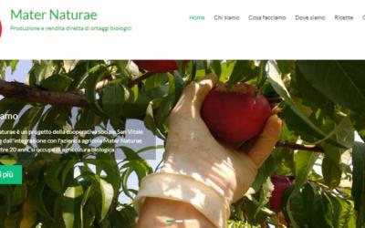 Online il nuovo sito di Mater Naturae
