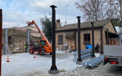 Avviati i lavori per ampliare il punto ristoro alla Rocca Brancaleone