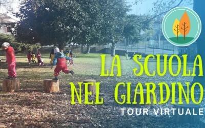 """Tour virtuale nella """"Scuola nel Giardino"""""""